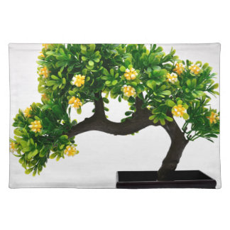 Bonsai tree placemat