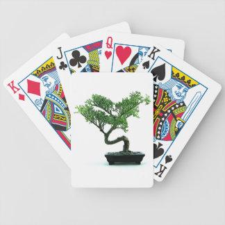 Bonsai Tree Bicycle Poker Cards