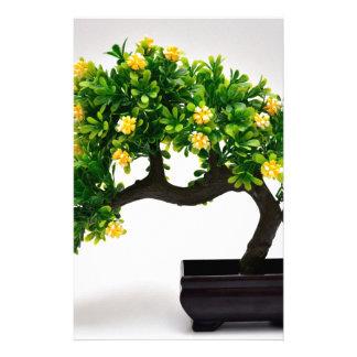 Bonsai tree stationery