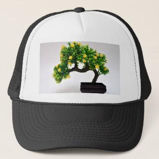 Bonsai tree trucker hat