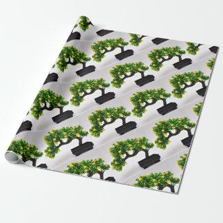 Bonsai tree wrapping paper