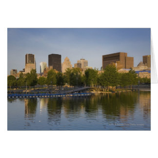 Bonsecours Basin In The Old Port Of Old Montreal Card