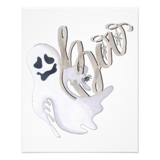 Boo and Ghost Photo Print