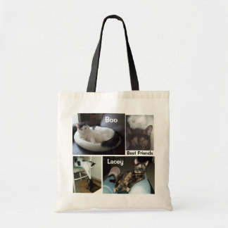 BOO AND LACEY TOTE BAG