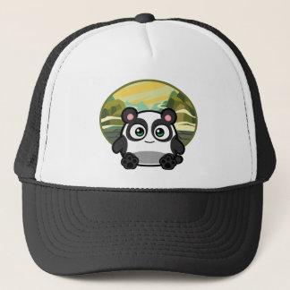 Boo as Panda Apparel Trucker Hat