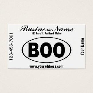 BOO Boone North Carolina Business Card