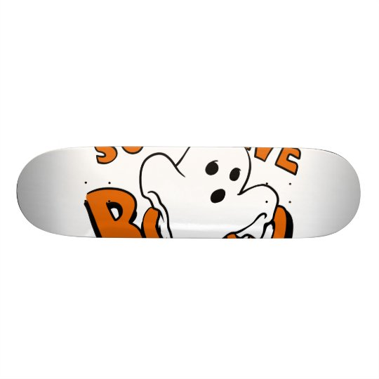 Boo - cartoon ghost - baby ghost - funny ghost 19.7 cm skateboard deck