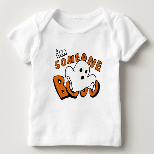 Boo - cartoon ghost - baby ghost - funny ghost baby T-Shirt