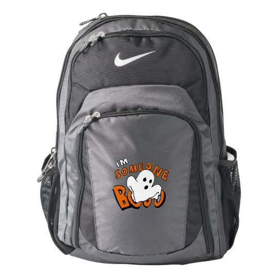 Boo - cartoon ghost - baby ghost - funny ghost backpack