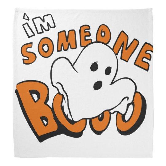 Boo - cartoon ghost - baby ghost - funny ghost bandana