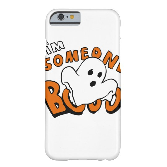 Boo - cartoon ghost - baby ghost - funny ghost barely there iPhone 6 case