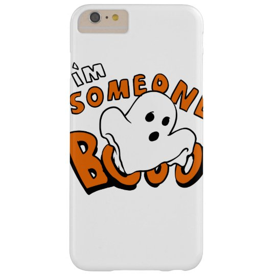Boo - cartoon ghost - baby ghost - funny ghost barely there iPhone 6 plus case