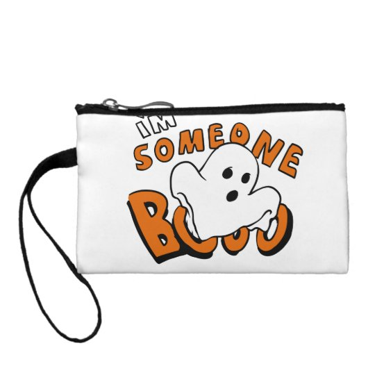 Boo - cartoon ghost - baby ghost - funny ghost coin purse