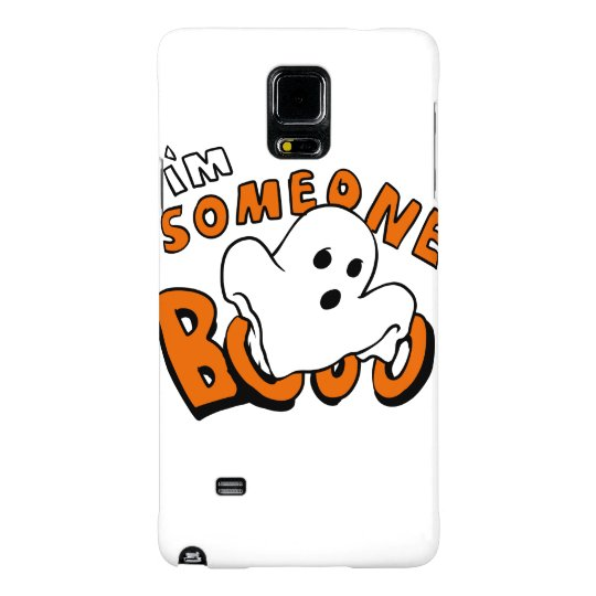 Boo - cartoon ghost - baby ghost - funny ghost galaxy note 4 case