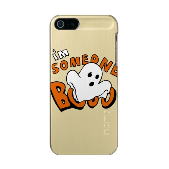 Boo - cartoon ghost - baby ghost - funny ghost incipio feather® shine iPhone 5 case