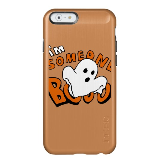 Boo - cartoon ghost - baby ghost - funny ghost incipio feather® shine iPhone 6 case