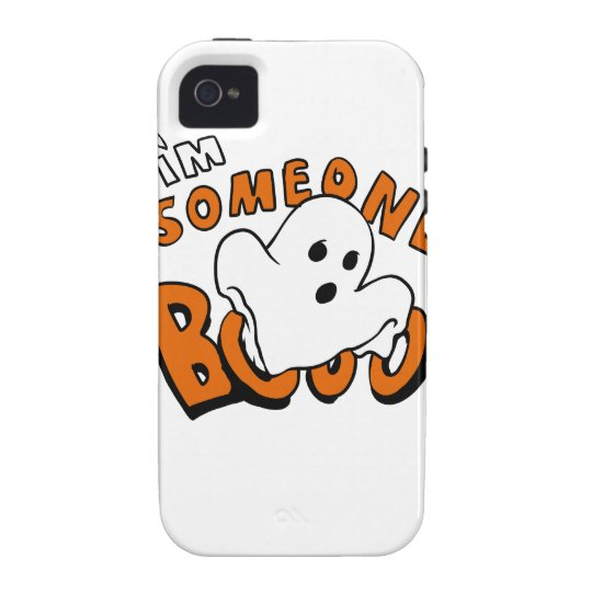 Boo - cartoon ghost - baby ghost - funny ghost iPhone 4/4S cases