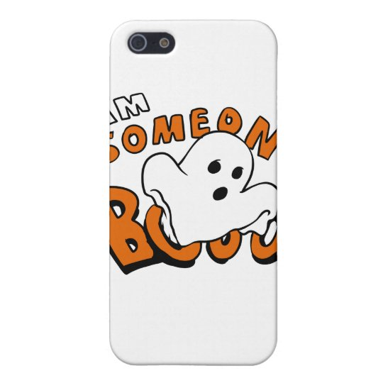 Boo - cartoon ghost - baby ghost - funny ghost iPhone 5/5S cover