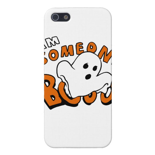 Boo - cartoon ghost - baby ghost - funny ghost iPhone 5 case