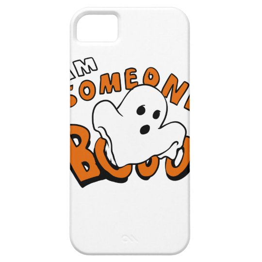 Boo - cartoon ghost - baby ghost - funny ghost iPhone 5 cover