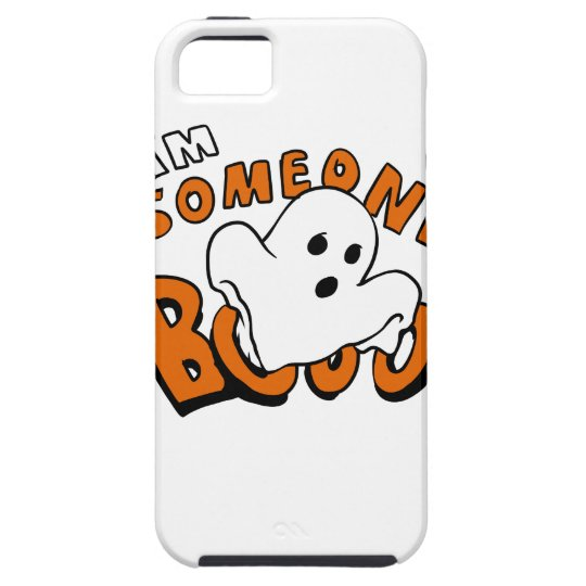 Boo - cartoon ghost - baby ghost - funny ghost iPhone 5 covers