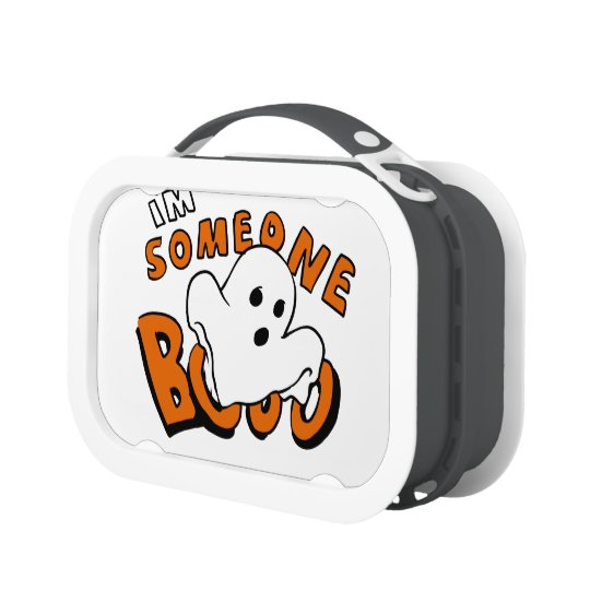 Boo - cartoon ghost - baby ghost - funny ghost lunch box