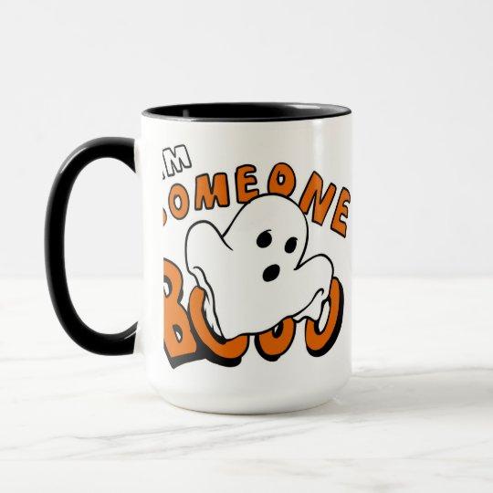 Boo - cartoon ghost - baby ghost - funny ghost mug