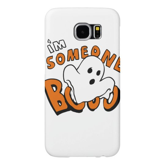 Boo - cartoon ghost - baby ghost - funny ghost samsung galaxy s6 cases