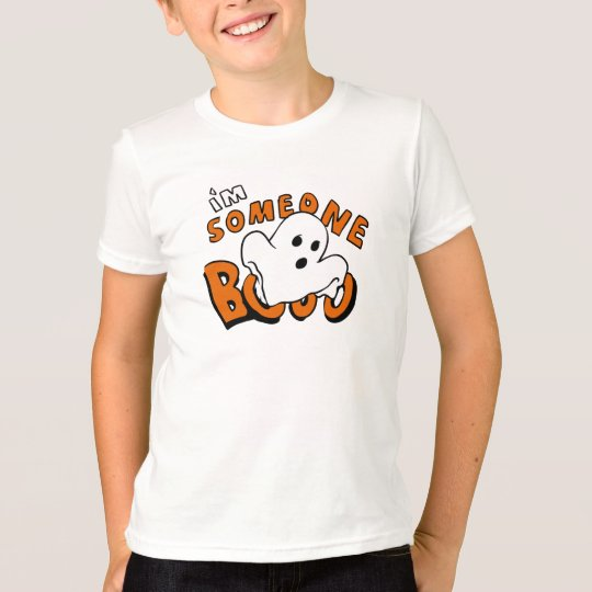 Boo - cartoon ghost - baby ghost - funny ghost T-Shirt