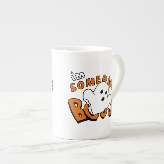 Boo - cartoon ghost - baby ghost - funny ghost tea cup