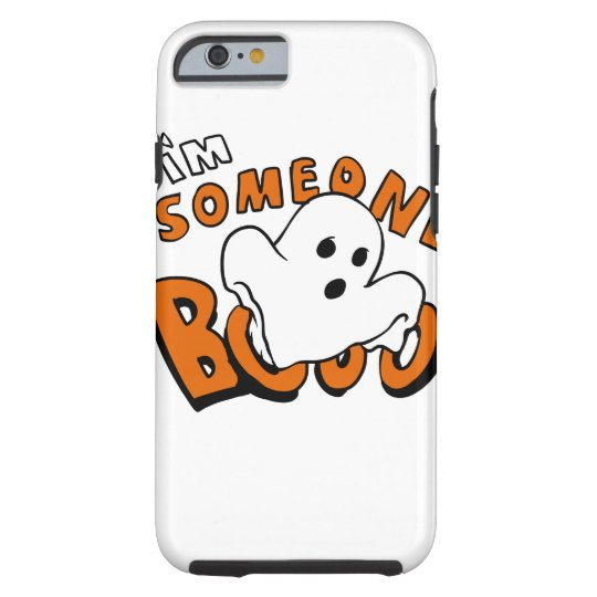Boo - cartoon ghost - baby ghost - funny ghost tough iPhone 6 case
