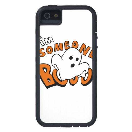 Boo - cartoon ghost - baby ghost - funny ghost tough xtreme iPhone 5 case