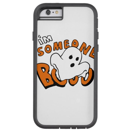Boo - cartoon ghost - baby ghost - funny ghost tough xtreme iPhone 6 case