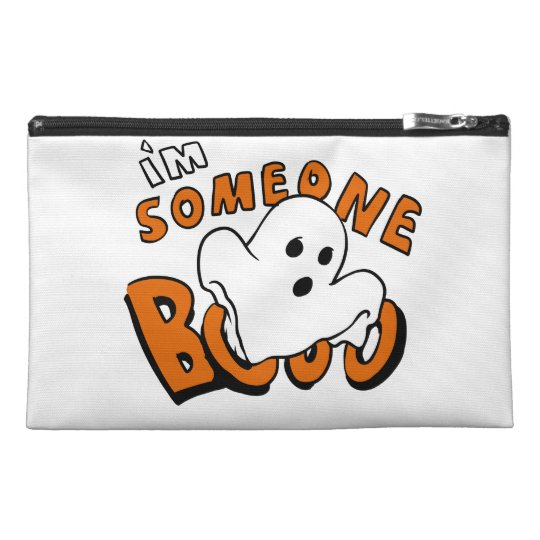 Boo - cartoon ghost - baby ghost - funny ghost travel accessory bag