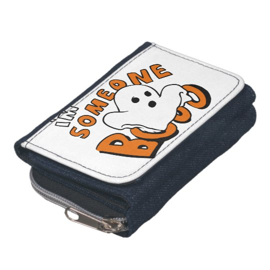 Boo - cartoon ghost - baby ghost - funny ghost wallets