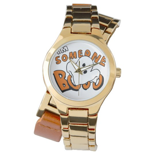 Boo - cartoon ghost - baby ghost - funny ghost watch