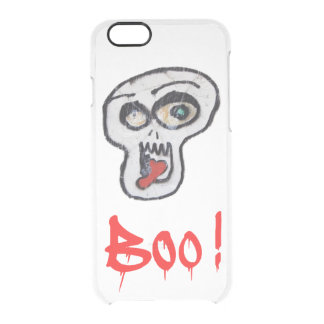 Boo! Clear iPhone 6/6S Case