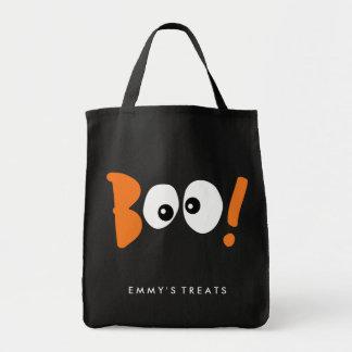 BOO! EYES   HALLOWEEN TOTE BAG