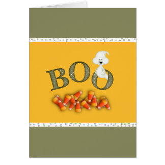 Boo Ghost Card