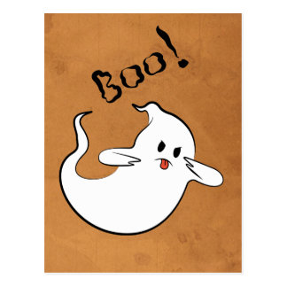 Boo! Ghost Postcard