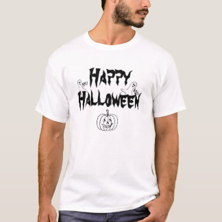 Boo Ghosts Happy Halloween T-Shirt
