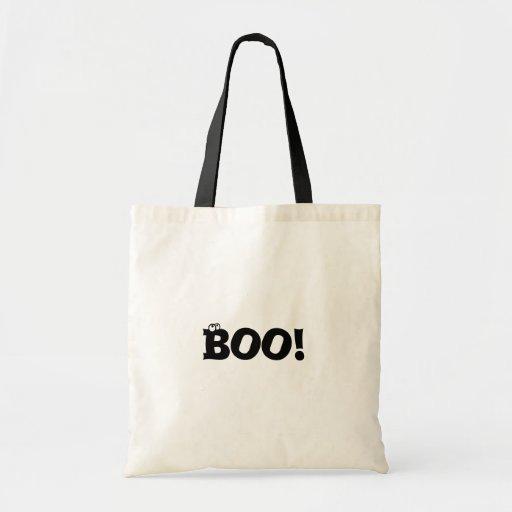 Boo Halloween Tote Tote Bags