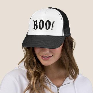 Boo! Halloween Trucker Hat
