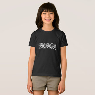 Boo in interesting lettering for Halloween T-Shirt
