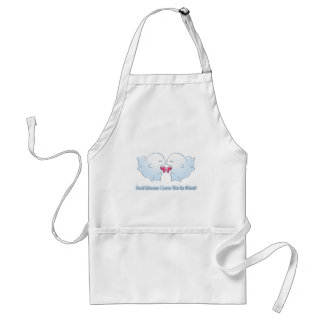 Boo Means I Love You in Ghost Apron