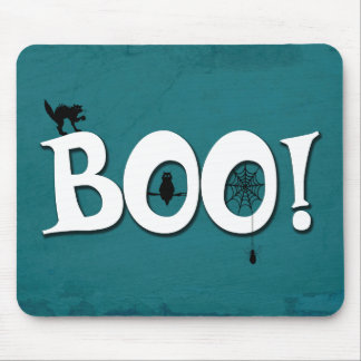Boo! Mouse Pad