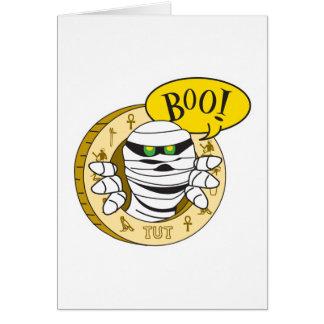 boo mummy card