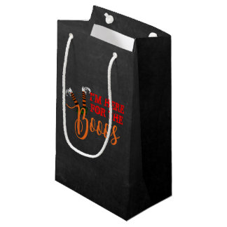 Boo On Boo and Booze Halloween Party Favor Bag