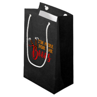 Boo On Boos and Booze Halloween Party Favor Bag