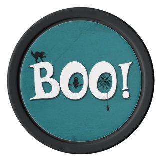 Boo! Poker Chips